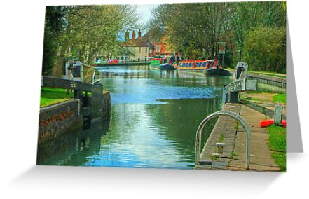 The Kennet and Avon Canal - Newbury  by Colin  Williams Photography