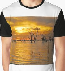 Menindee Sunset Graphic T-Shirt