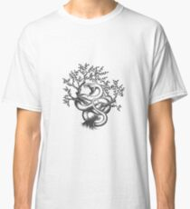 The Snake On a Tree Classic T-Shirt