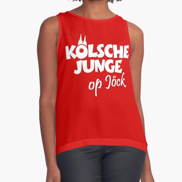 Kölsche Junge op Jöck Ärmelloses Top