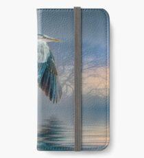 Misty Dawn Heron iPhone Wallet/Case/Skin