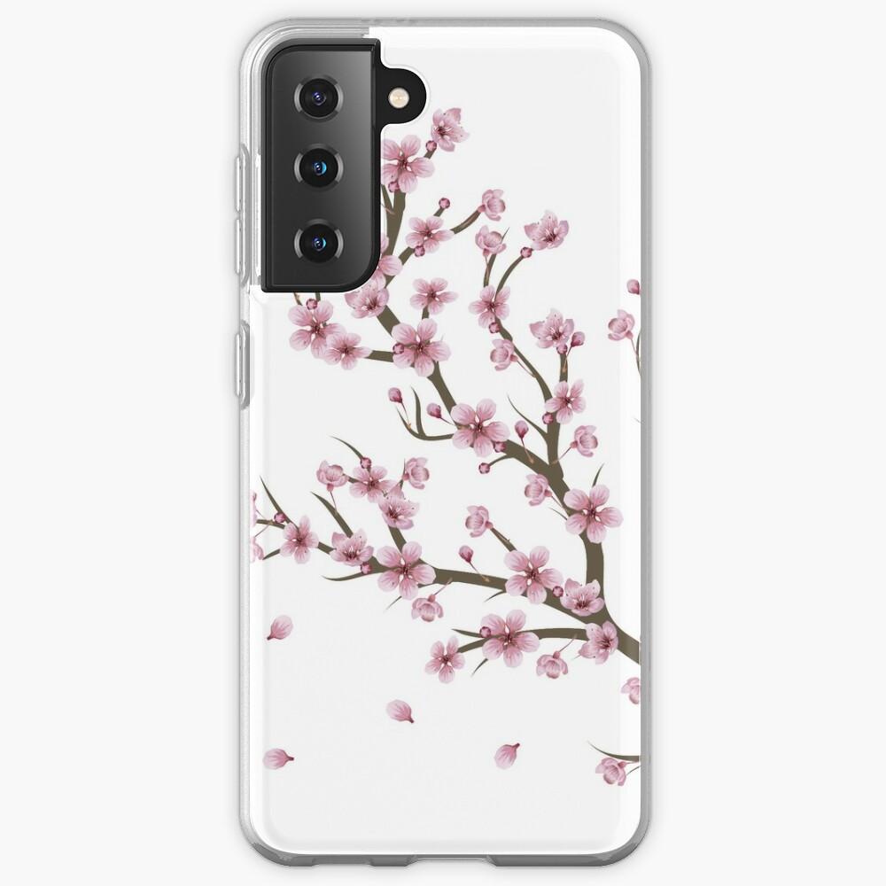 Blooming Sakura Branch design Case & Skin for Samsung Galaxy