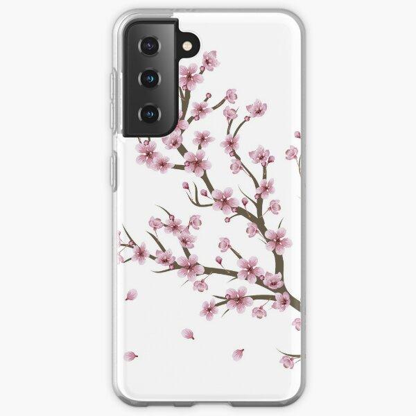 Blooming Sakura Branch design Samsung Galaxy Soft Case