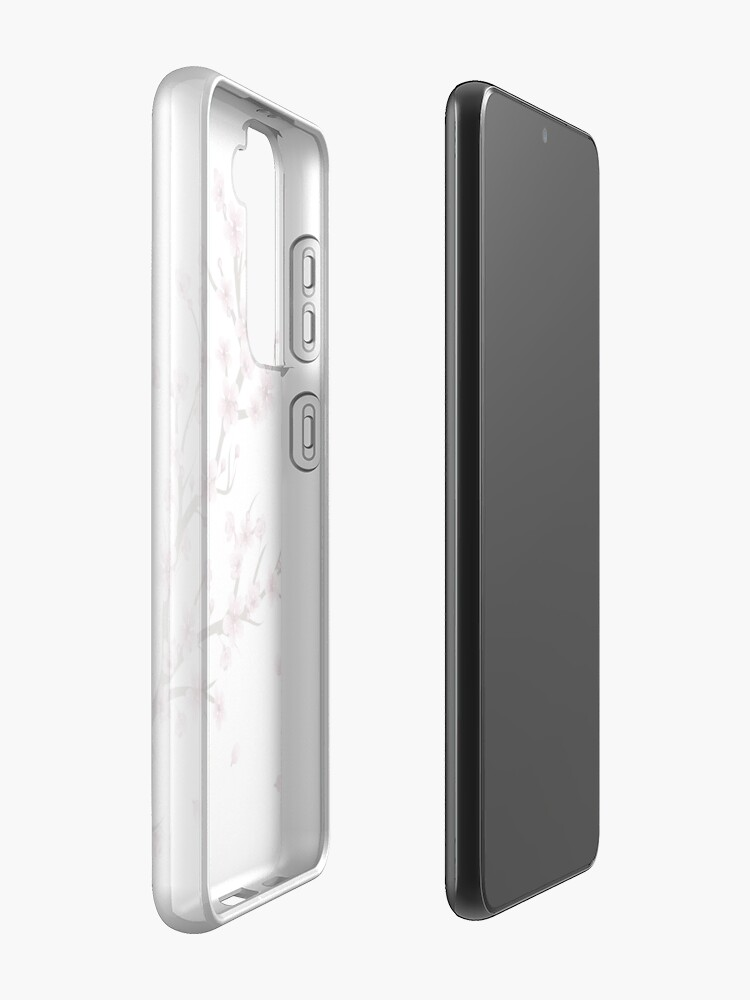 Alternate view of Blooming Sakura Branch design Case & Skin for Samsung Galaxy