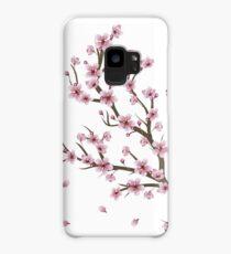Blooming Sakura Branch 4 Case/Skin for Samsung Galaxy