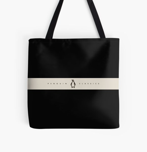 Penguin Classics Book Camiseta Bolsa estampada de tela
