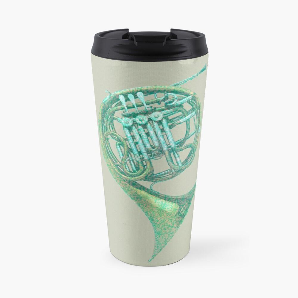 Single horn in F Travel Mug