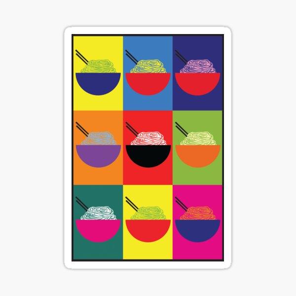 Pop Pho Art Sticker