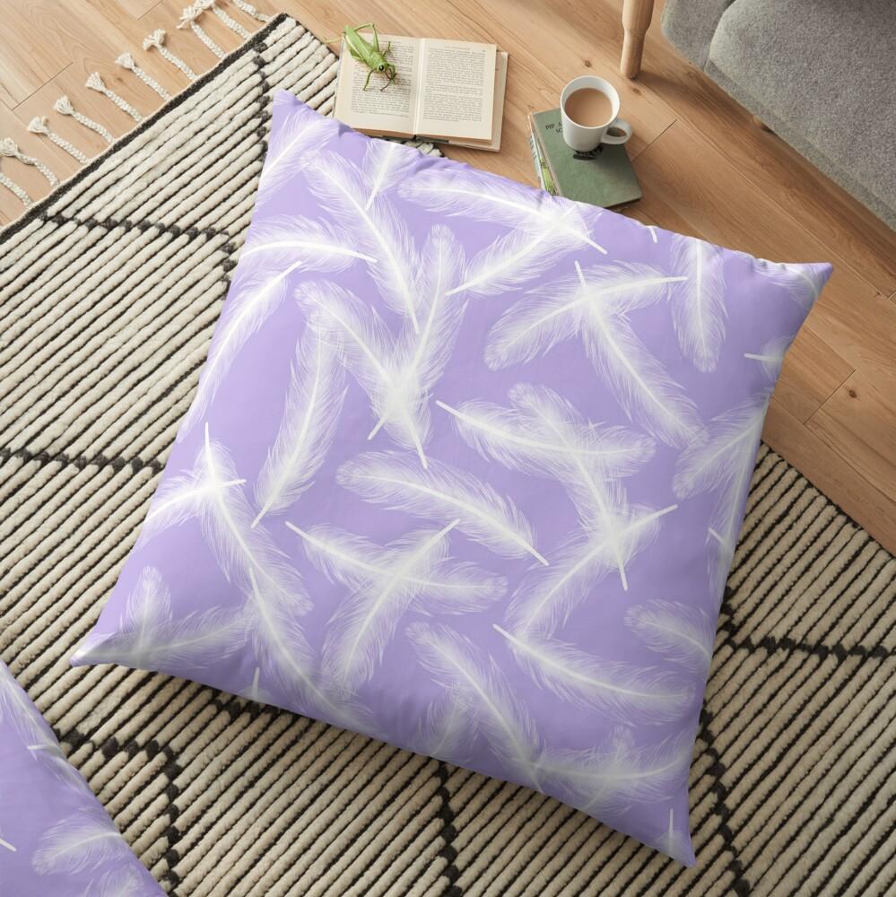 Fallen Angel - Lavender Floor Pillow