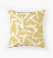 Fallen Angel - Yellow Floor Pillow