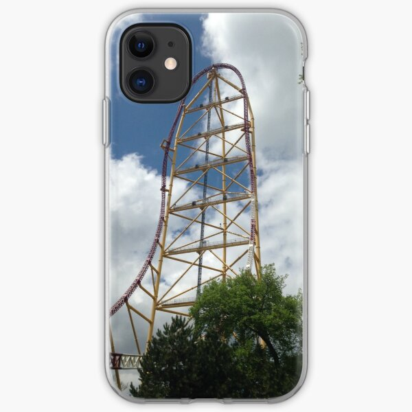 Top Thrill Dragster - Cedar Point iPhone Soft Case