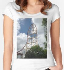 Top Thrill Dragster - Cedar Point Women's Fitted Scoop T-Shirt