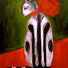 Czarina - the cat by Jenny Hambleton