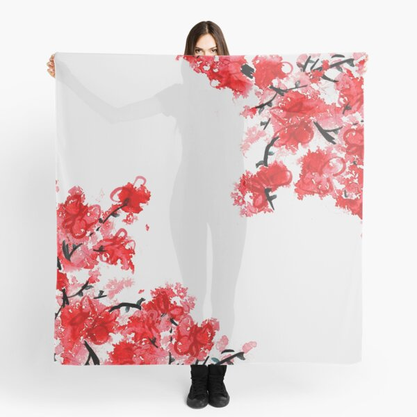 Cherry Blossoms Scarf