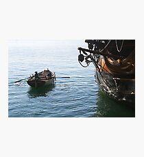 Ahoy! Photographic Print