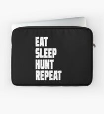 Eat Sleep Hunt Repeat Laptop Sleeve