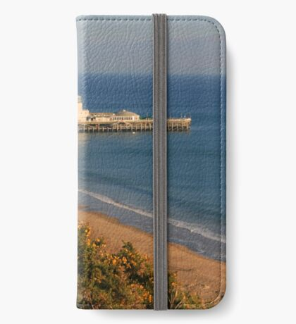 Pier from the West Cliff iPhone Wallet