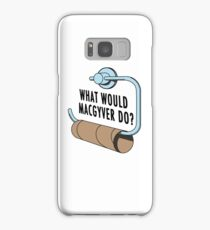 What Would MacGyver Do Samsung Galaxy Case/Skin