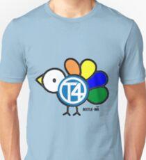 Cartoon Camper Chick Unisex T-Shirt