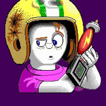 Commander Keen HD - Retro DOS game fan items by hangman3d