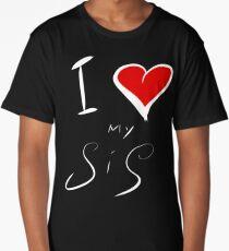 I Love (my) Sis Long T-Shirt