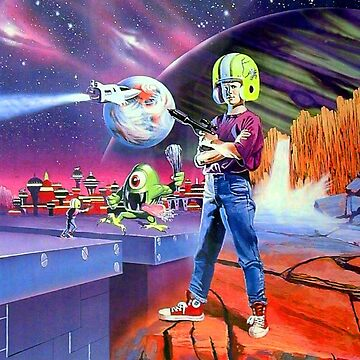 Commander Keen - Retro DOS game fan print by hangman3d
