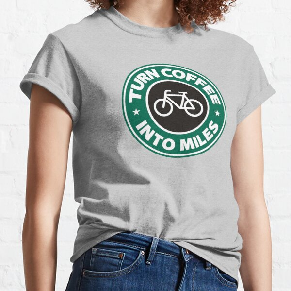 Turn Coffee Into Miles Classic T-Shirt