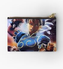 Chun-Li Street Fighter 2 Fan print Studio Pouch