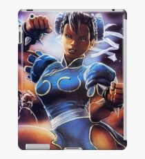 Chun-Li Street Fighter 2 Fan print iPad Case/Skin
