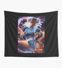 Chun-Li Street Fighter 2 Fan print Wall Tapestry