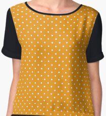 Tiny dots pattern Chiffon Top