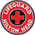 Lifeguard Hilton Head South Carolina by MyHandmadeSigns