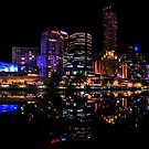 MELBOURNE BY NIGHT by Andrew Dickman