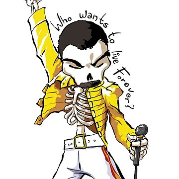 Freddie Forever by lifeisthat