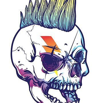 Skull punk by fabien-p