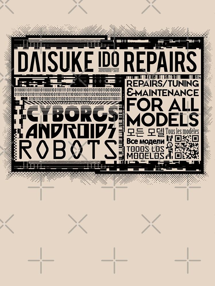 Daisuke Ido Repairs by Silurostudio