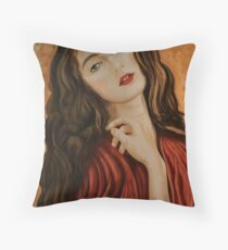 Elena Throw Pillow