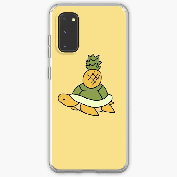 Pineapple Turtle Samsung Galaxy Soft Case