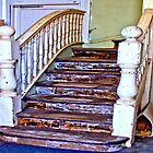 Rustic Steps in Guilford by TeAnne