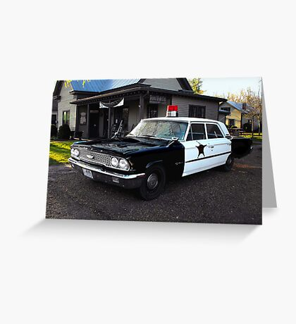 Andy of Mayberry's Car...via Leipers Fork  Tennessee.... Greeting Card