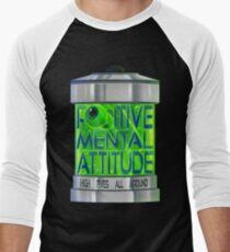 Positive Einstellung Baseballshirt mit 3/4-Arm