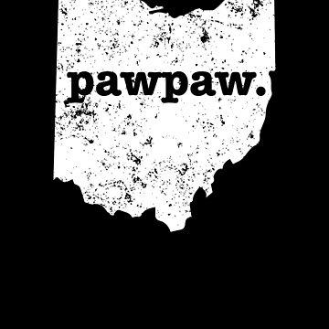 Pawpaw Ohio Best Grandpa Pawpaw by shoppzee