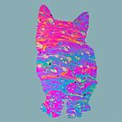 Psychedelic cat by Walmorn