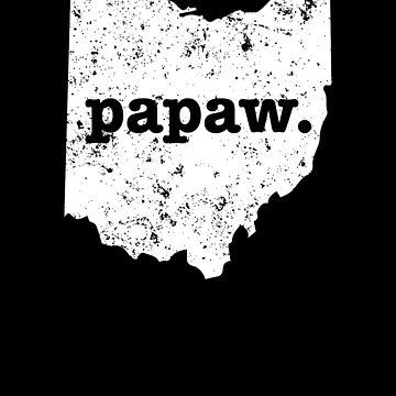 Papaw  Ohio  Coolest Grandpa by shoppzee