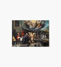 Simon de Vos Return of the Prodigal Son Art Board