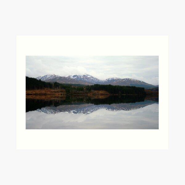 Scottish  Symmetry Art Print