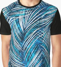 Seamles vector background with tropical palm leaves Graphic T-Shirt