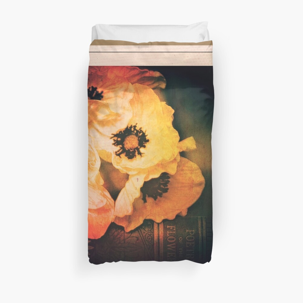 Poppies Gone Old Master Duvet Cover