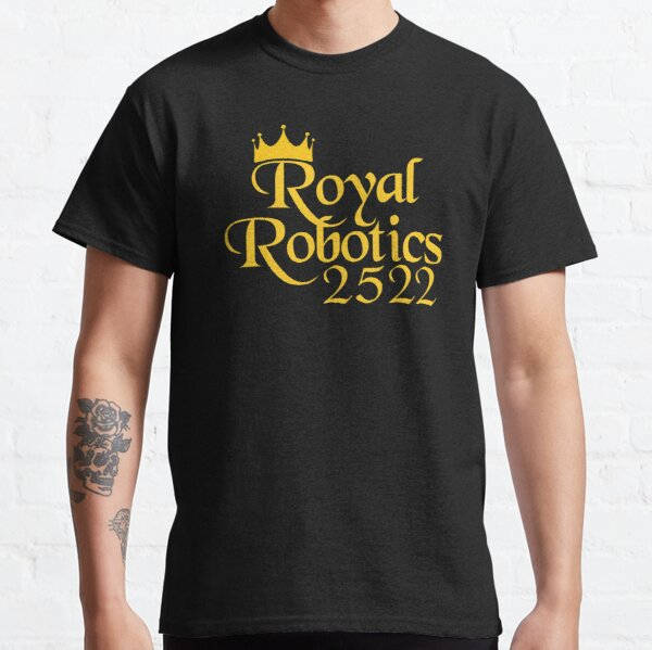 Royal Robotics Crown Logo Classic T-Shirt