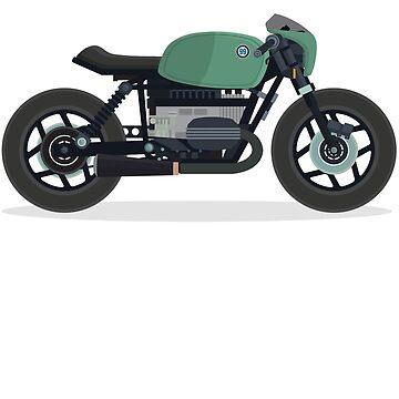 Vintage bike green by fabien-p